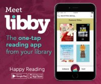 Meet Libby, The one-tap reading app from your library.