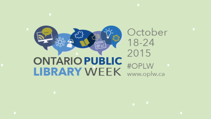 Celebrate Library Week thisOctober!