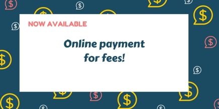 Online Payment Now Available!
