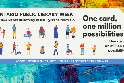 Ontario Public Library Week    Oct 18 – 24